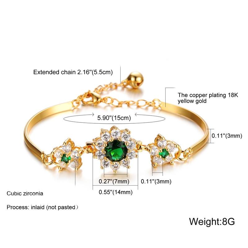 HTB1HY0um25TBuNjSspcq6znGFXay 2019 Luxury 18K Gold Bracelets for Women Fashion Bracelet Accessories Crystal Charm Wedding Jewelry Birthday Gifts