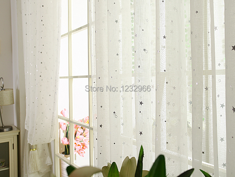 Aliexpress Com Cotton Voile Curtains White Fabric Sheer