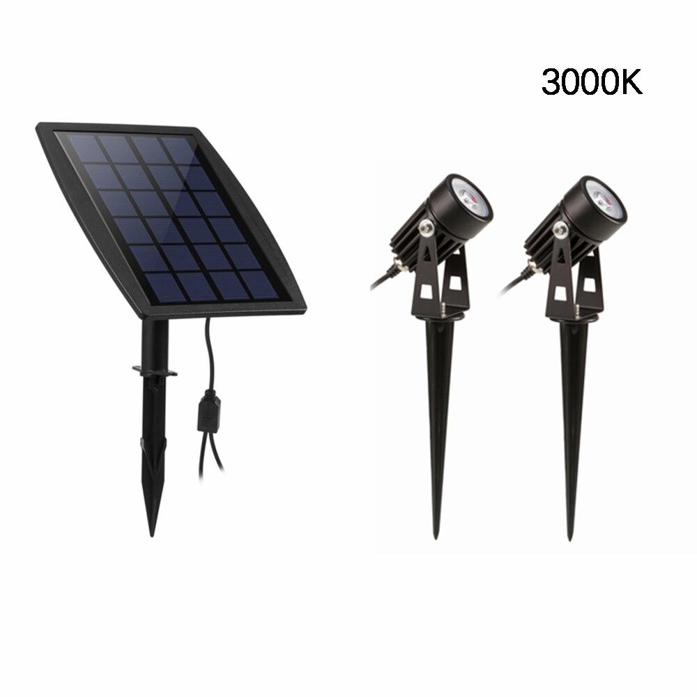 Solar Light 2pcs Spot Lights Outdoor Solar Spotlight For Backyard