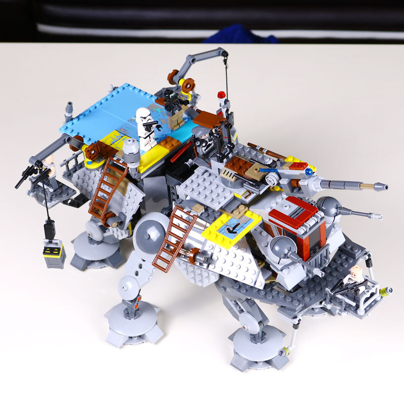 LEPIN 05032 1022pcs Star-Wars Rex's AT Captain TE Building Blocks Brick Toy with 75157 Self-Locking Children day's DIY Gift
