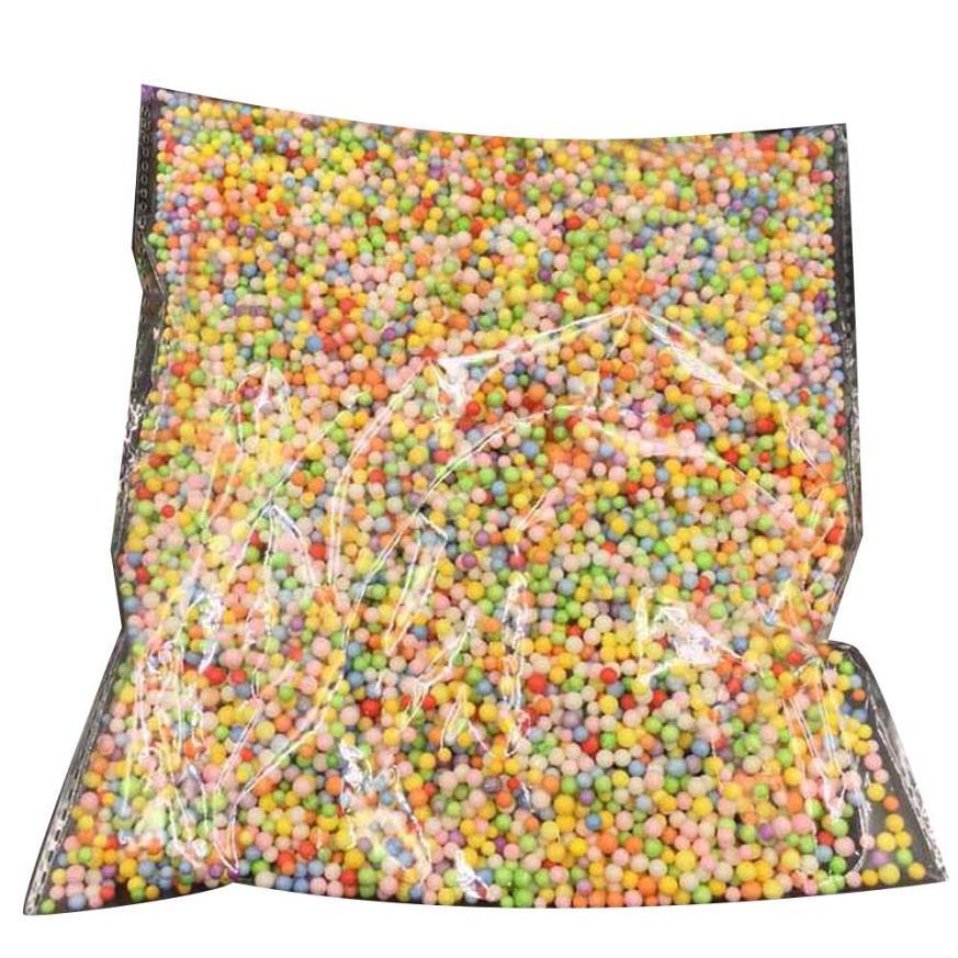 #5001 Colorful Styrofoam Balls Mini Foam Balls Decorative Ball Diy Craft Supplies