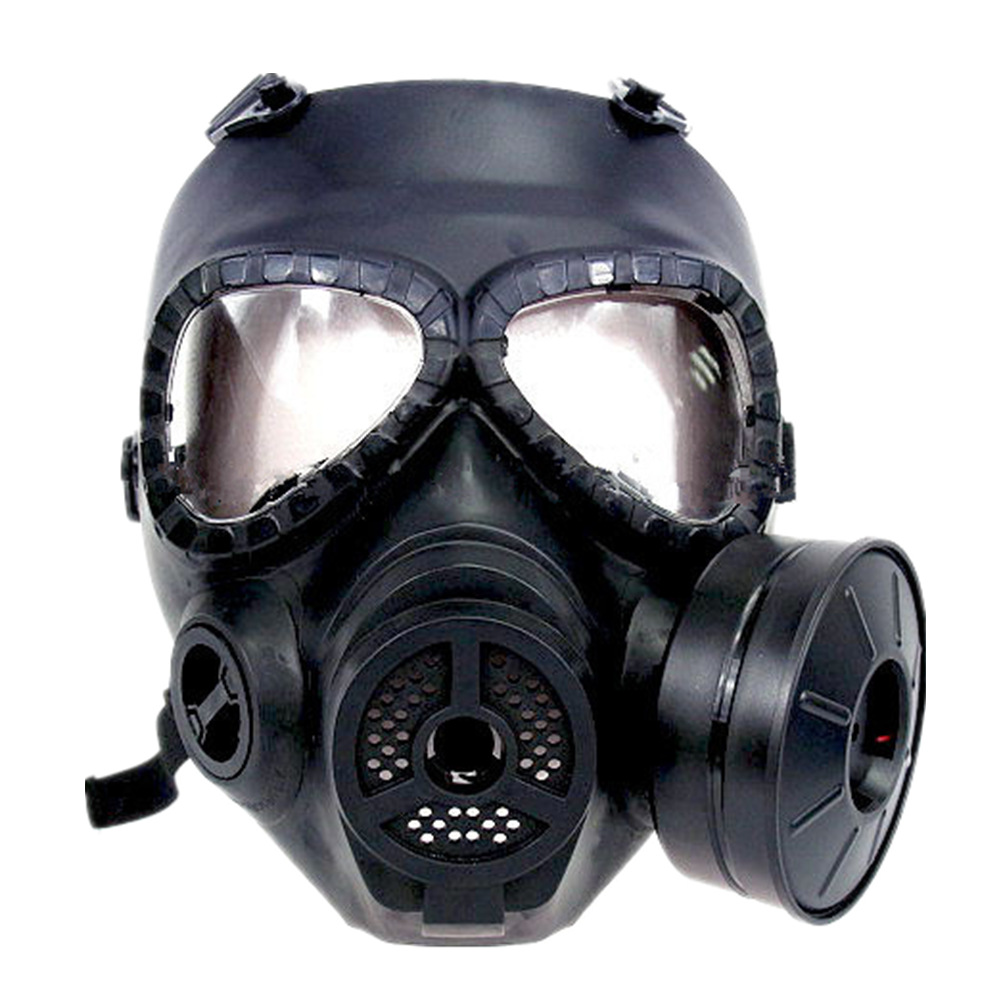 Airsoft Anti-Fog Protective Mask in schwarz Funsport
