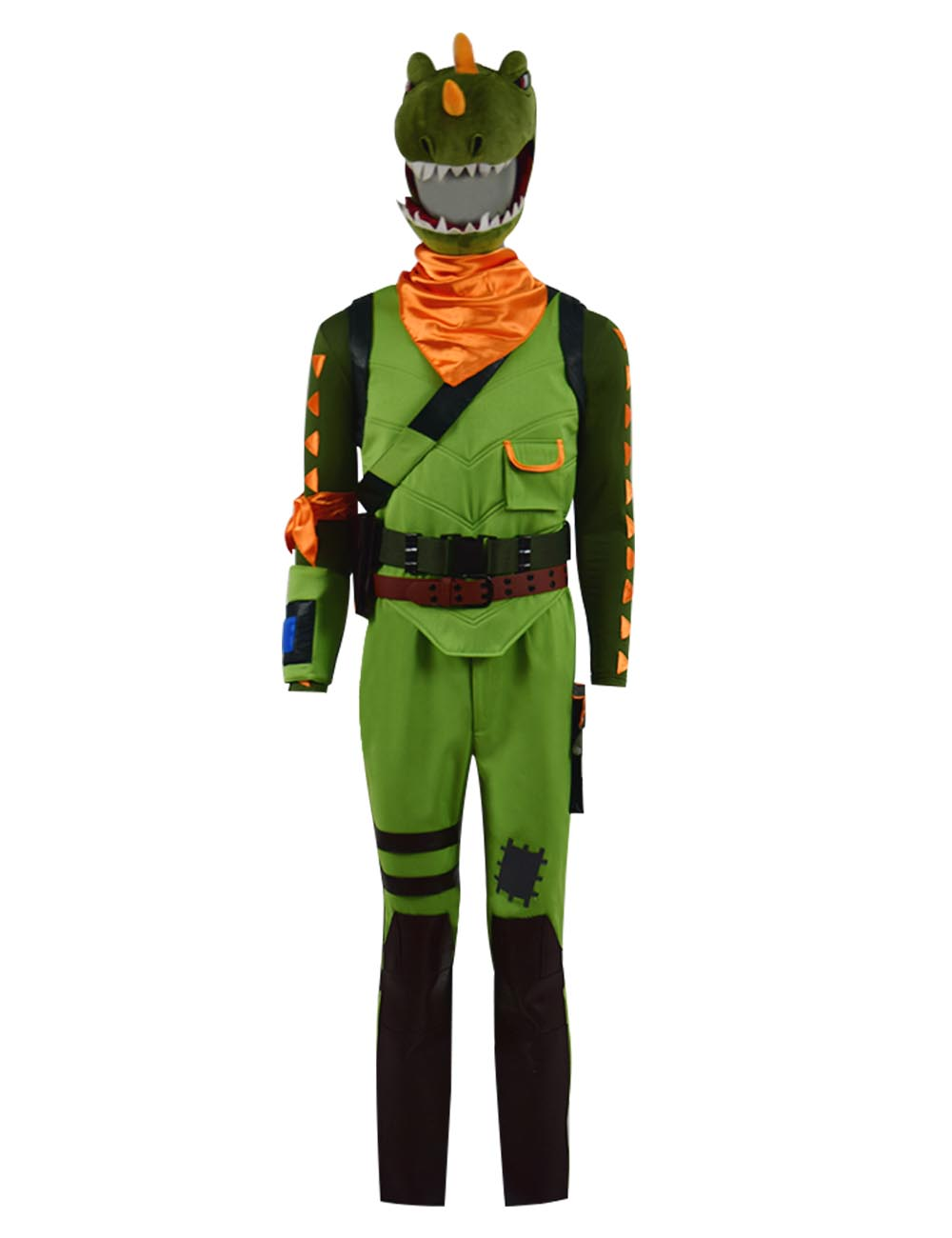 Rex Cosplay Costume Halloween Man Cosplay Full Set