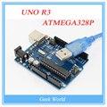 Последние 100% Новый ~! цена завода UNO R3 ATMEGA328P ATMEGA16U2 + 1 ШТ. USB Кабель