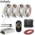 CT сенсорная панель дистанционного управления Led контроллер  SM5050 светодиодная полоса цветовая температура гибкий свет блок питания адаптер ...
