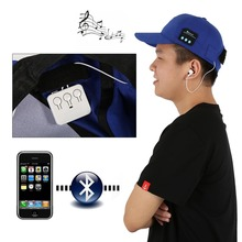 New Wireless Sport Bluetooth Music Hat Cap Speaker Headset Sport Baseball Cap Headset 2-in-1 Hands-free for Smart Phone Tablet