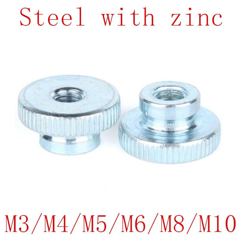 High knurled nut DIN466 M 8