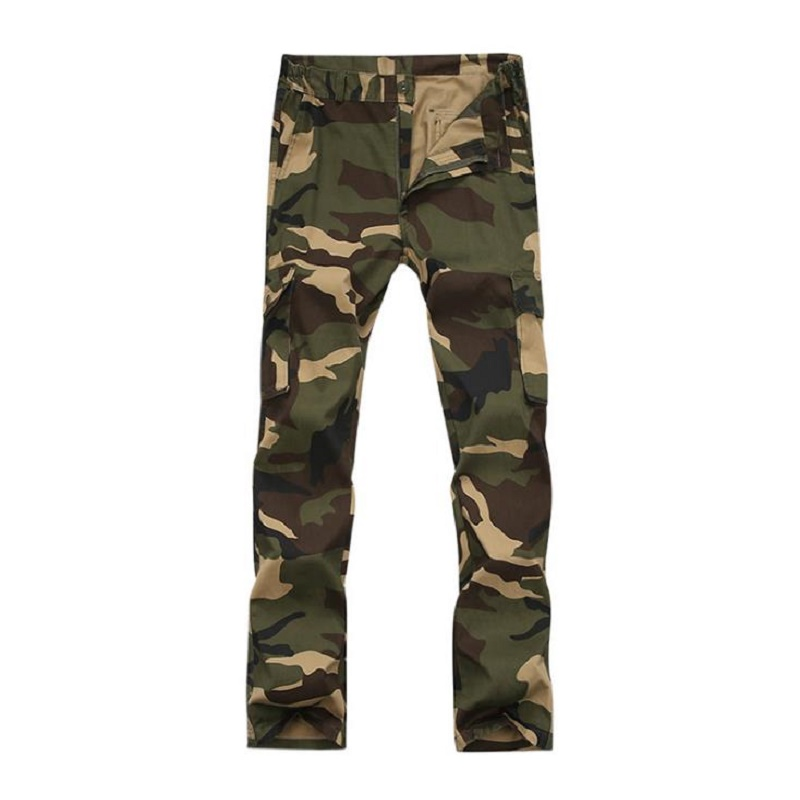 Outdoor Airborne Division Clothes Camouflage Hunting Suit for Men 39 s Army Military Combat Uniforms Tactical Jacket pants in Hunting Ghillie Suits from Sports amp Entertainment