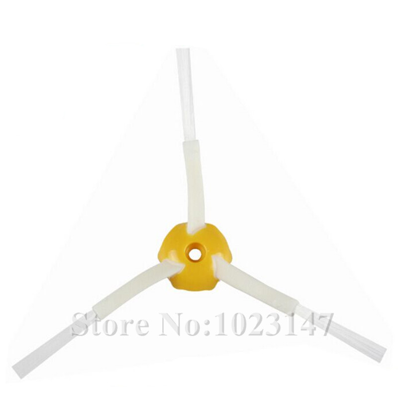 10 Pieces/lot Robot Cleaner Side Brush Replacement for irobot roomba 500 550 560 600 650 700 760 770 780 Series free post new 3 pieces 6 arms sidebrush for irobot roomba 500 600 700 series side brush 550 560 570 630 650 760 770