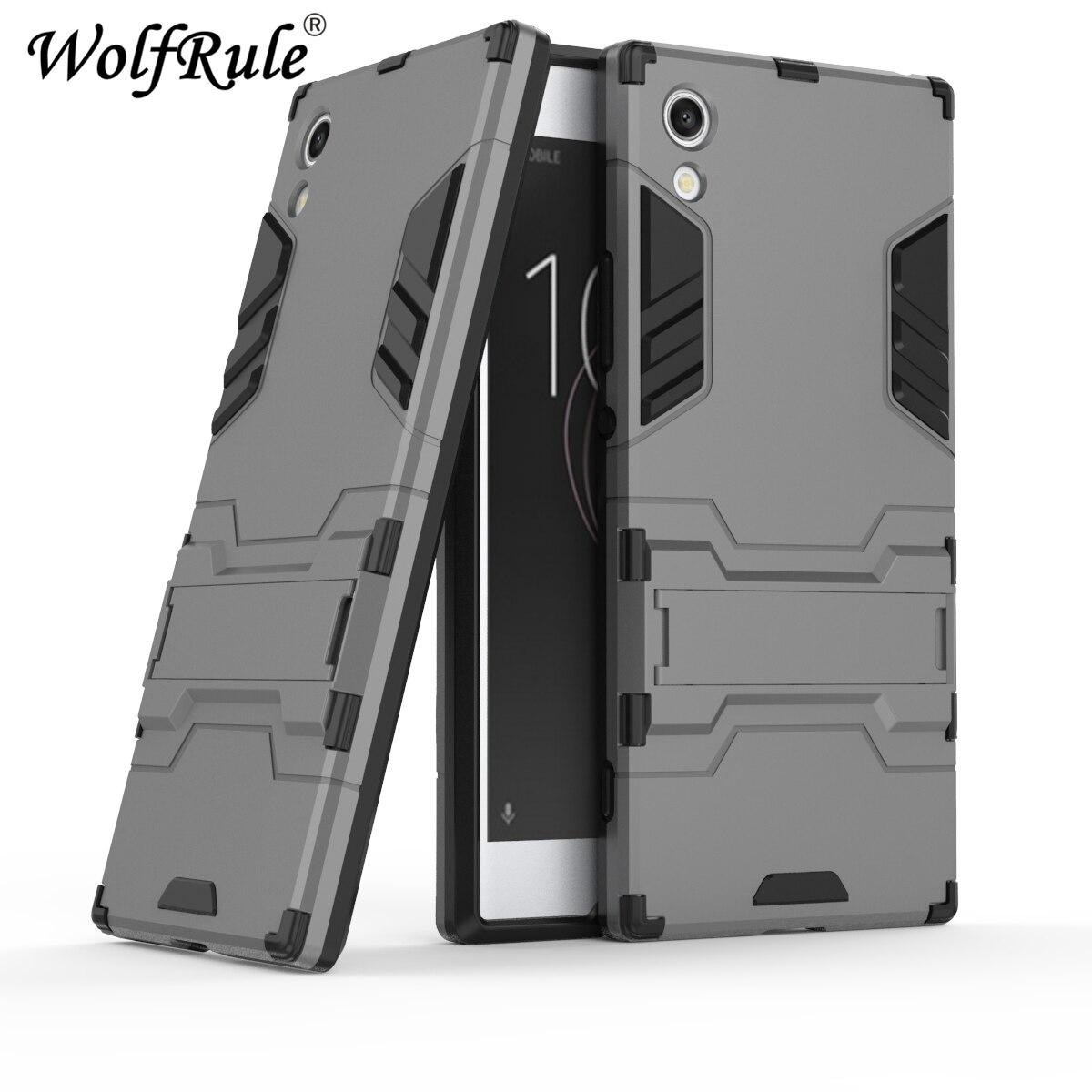 For Cover Sony Xperia XA1 Case for Sony Xperia XA1 Silicone Rubber Robot Armor Hard Back Phone Cover Case for Sony Xperia XA1