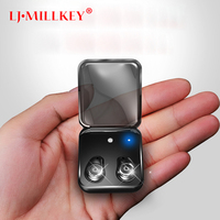 Bluetooth Headset Handsfree Earbuds TWS True Wireless Stereo Earphones With MIC Charging Box For Phone And