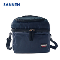 SANNEN 8L Portable Necessity Thermal Insulated Lunch Bags Solid Cooler Lunch Box Handbag Milk Storage Food