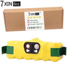 7 XINbox 6000 mAh Li-ion Batería para iRobot Roomba 510 530 540 550 560 570 580 610 562 800 660 80501 4419696 Aspiradora