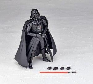 Image 2 - Disney Star Wars Darth Vader 16cm mini Action Figure Anime Dekoration Sammlung Figurine mini puppe Spielzeug modell für kinder geschenk