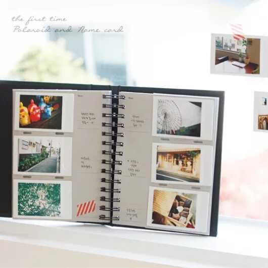BALLE 120 Pockets PU Leather Photo Album for 3 inch Instant Polaroid Fujifilm Instax Mini 9/ 8/ 70/ 7S/ 25, Z2300 PIC-300P Film