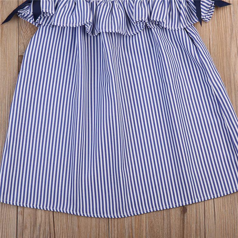 2017 الصيف الأطفال وتتسابق طفل فتاة قطعتين دعوى الكشكشة اللباس مع عقال الفتيات الملابس 0-6 سنوات