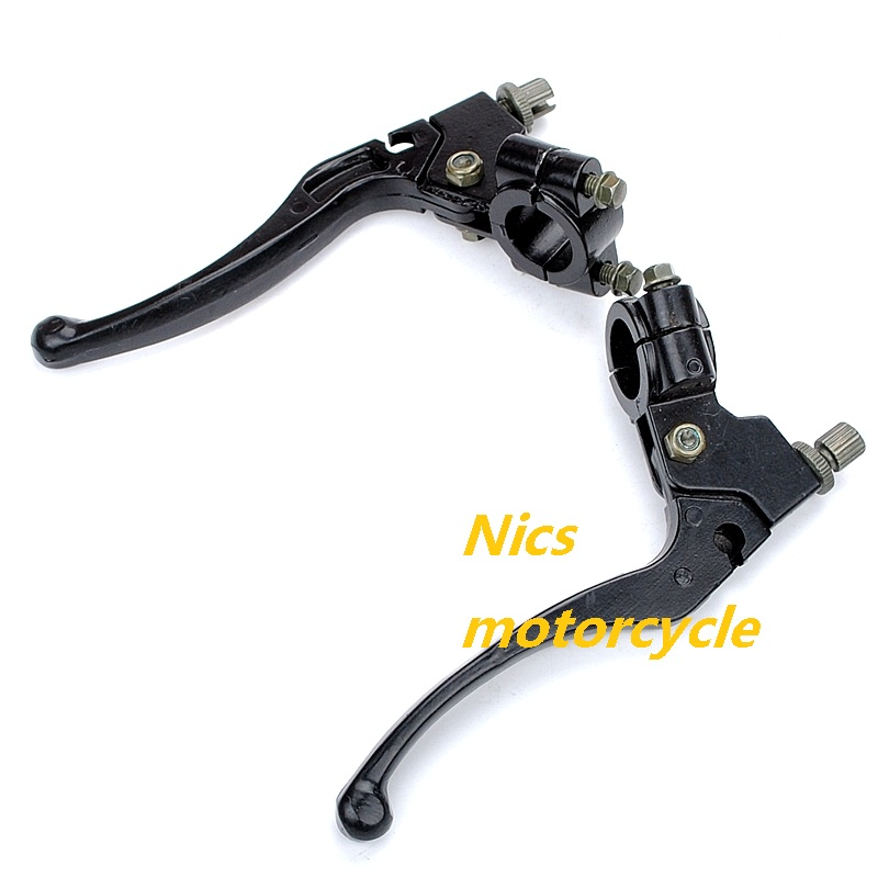 7//8 Left /& Right Clutch Brake Handle Levers for XR80 XR100 CRF70 CRF80 CRF100 Pit Dirt Motor Bike Motocross Motorcycle