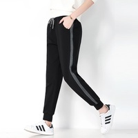 Winter Women Fleece Pants Sweatpants Women's Casual Stretch Feet Thick Velvet Warm 5XL Pants Trousers Sportswear For Female 0918 4