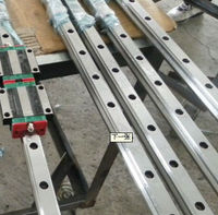 2 pcs HGR25 3000mm and HGW25C 4PCS HIWIN from Taiwan linear guide rail