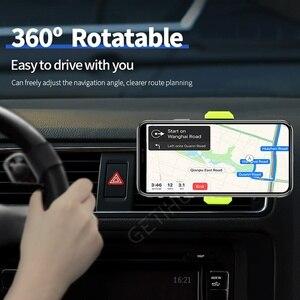 Image 5 - حامل هاتف السيارة آيفون X XS Max 8 7 6 سامسونج 360 درجة دعم موبايل تنفيس الهواء حامل للسيّارة حامل هاتف في السيارة