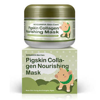 100g BIOAQUA Collagen Pig Skin Face Mask Anti Aging Cream Anti Wrinkle Magic Facial Mask Ageless Products Cosmetics