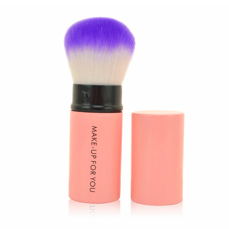Portable Retractable Makeup Brush Professional Cosmetic Foundation Blusher Face Brushes Tool 789(China)