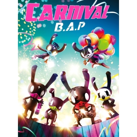 [SPECIAL VERSION] B.A.P  BAP 5TH MINI ALBUM - CARNIVAL + 60p Photobook + 1 Random Photocard Release Date 2016.02.23 KPOP tvxq tohoshinki special live tour tistory in seoul photobook 100page release date 2015 05 29 korea kpop