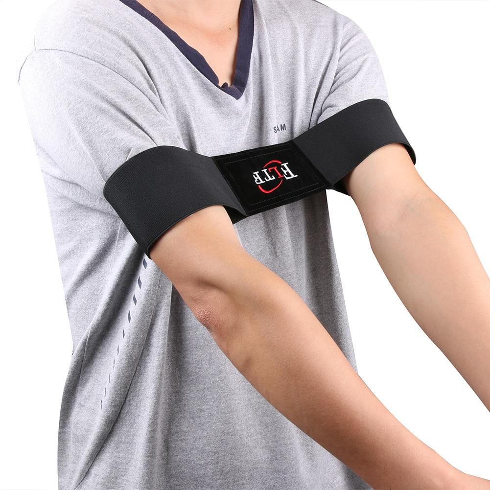 35 X 7 Cm Elastic Nylon Golf Arm Posture Motion Correction Belt Golf Beginner Training Aids Durable Golf Training Equipment