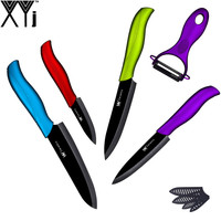 Chinese Top Sale Cooking Tools XYJ Brand 3 4 5 6 Non Stick Ceramic Knives Multi