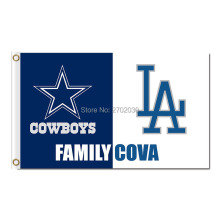 Dallas Cowboys Flag Family Cova 3×5 FT Football Banner 100D Polyester *FL Banner National Rugby League Flag Dallas Cowboys