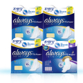 Dry surface Pads With Wings Huge Absorbed  INFINITY Ultra Thin Sanitary Napkin Health Care Combination Day 30pads+ Night 10pads