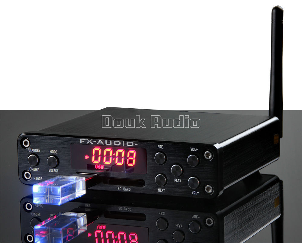 2018 Lastest FX-Audio M-160E Integrated HiFi High Power Digital Amplifier U-Disk/SD Card/PC USB/Bluetooth 4.0 fx audio m 160e bluetooth 4 0 digital audio amplifier 160w 2 input usb sd aux pc usb loseless player for ape wma wav flac mp3