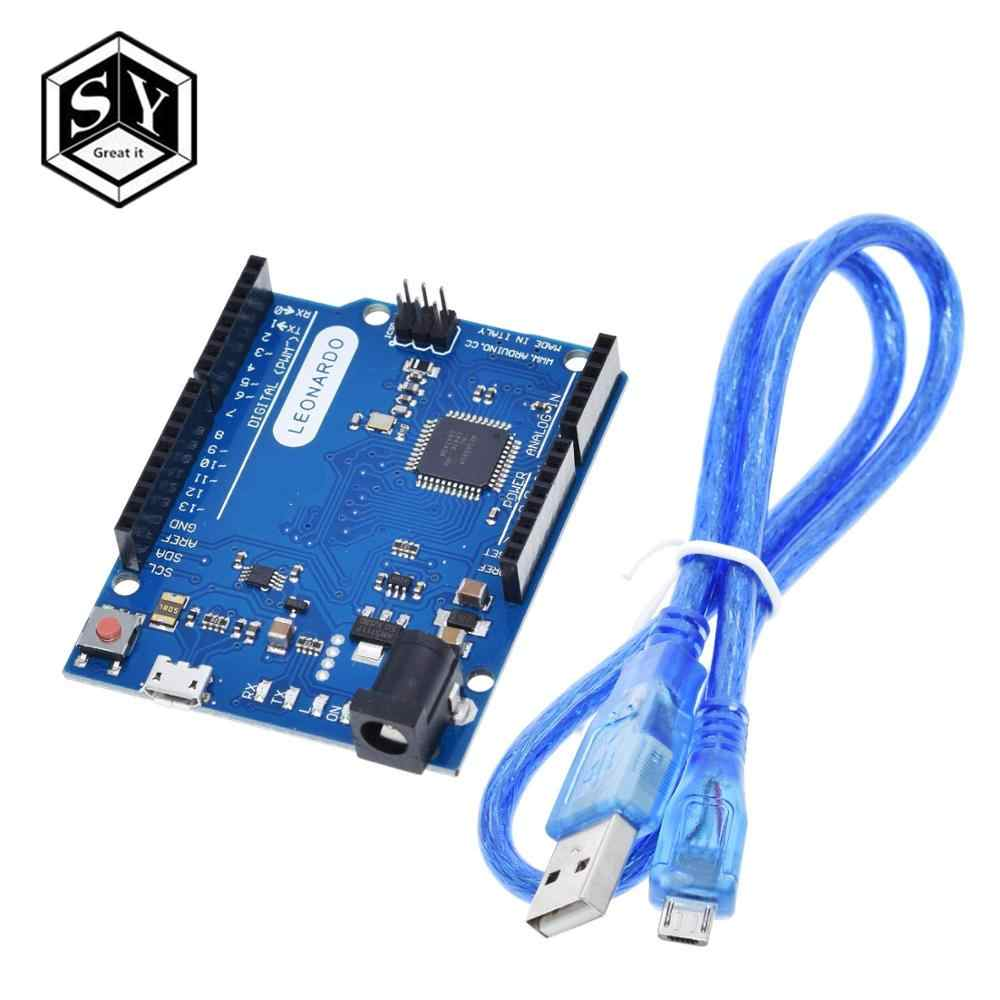 Great IT Leonardo R3 Microcontroller Atmega32u4 Development Board With USB Cable Compatible For  Arduino DIY Starter Kit