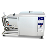 Ultrasonic Cleaning Device 360L Large Capacity Ultrasonic Cleaner Auto Parts/Engine/Cylinders Oil Fouling Cleaner G 72