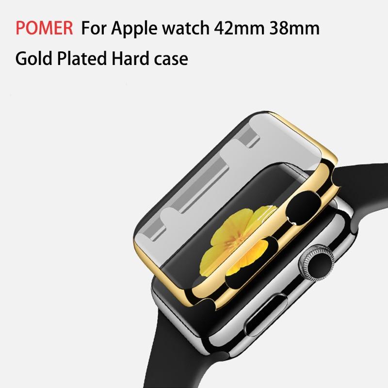 POMER Hard PC Full Cover Schutzhülle Ultradünne vergoldete - Handy-Zubehör und Ersatzteile