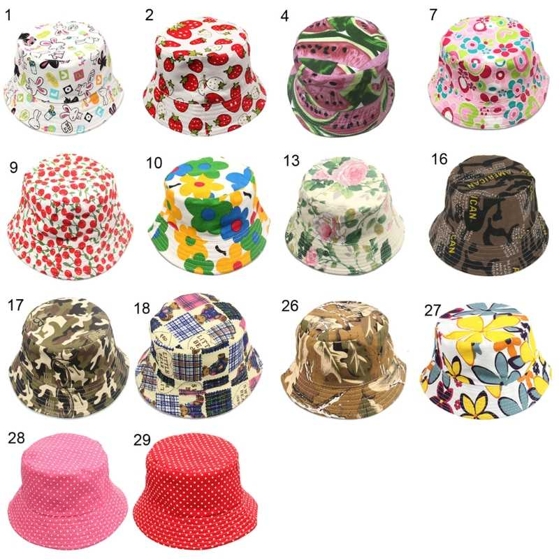 5cf18b11001 Detail Feedback Questions about Floral Print Bucket Hat for Kids Children  Toddler 1 3 Years Cute Cotton Baby Sun Cap New Fashion Small Flat Casual  Hats on ...