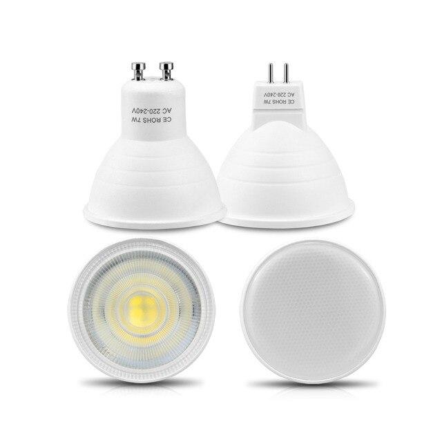 Nein Dimmbar GU10 MR16 Led Lampe Scheinwerfer 220 V 7 Watt COB Chip  Abstrahlwinkel 120