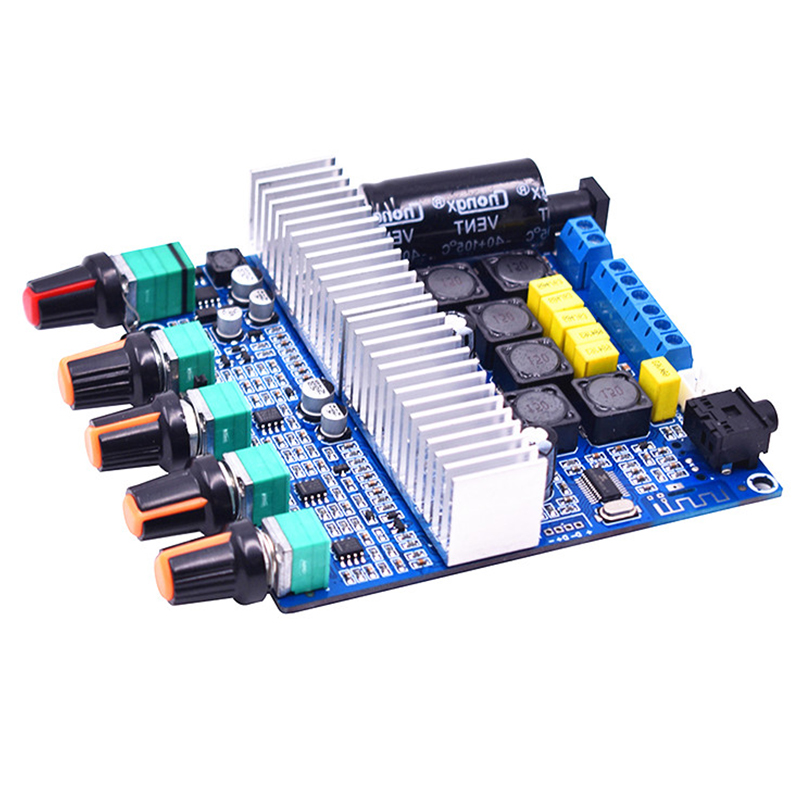 TPA3116 DC 12-21V Digital Power Amplifiers Module 2.1 Sound Channel 50Wx2+100W For Bluetooth Amplifier Board