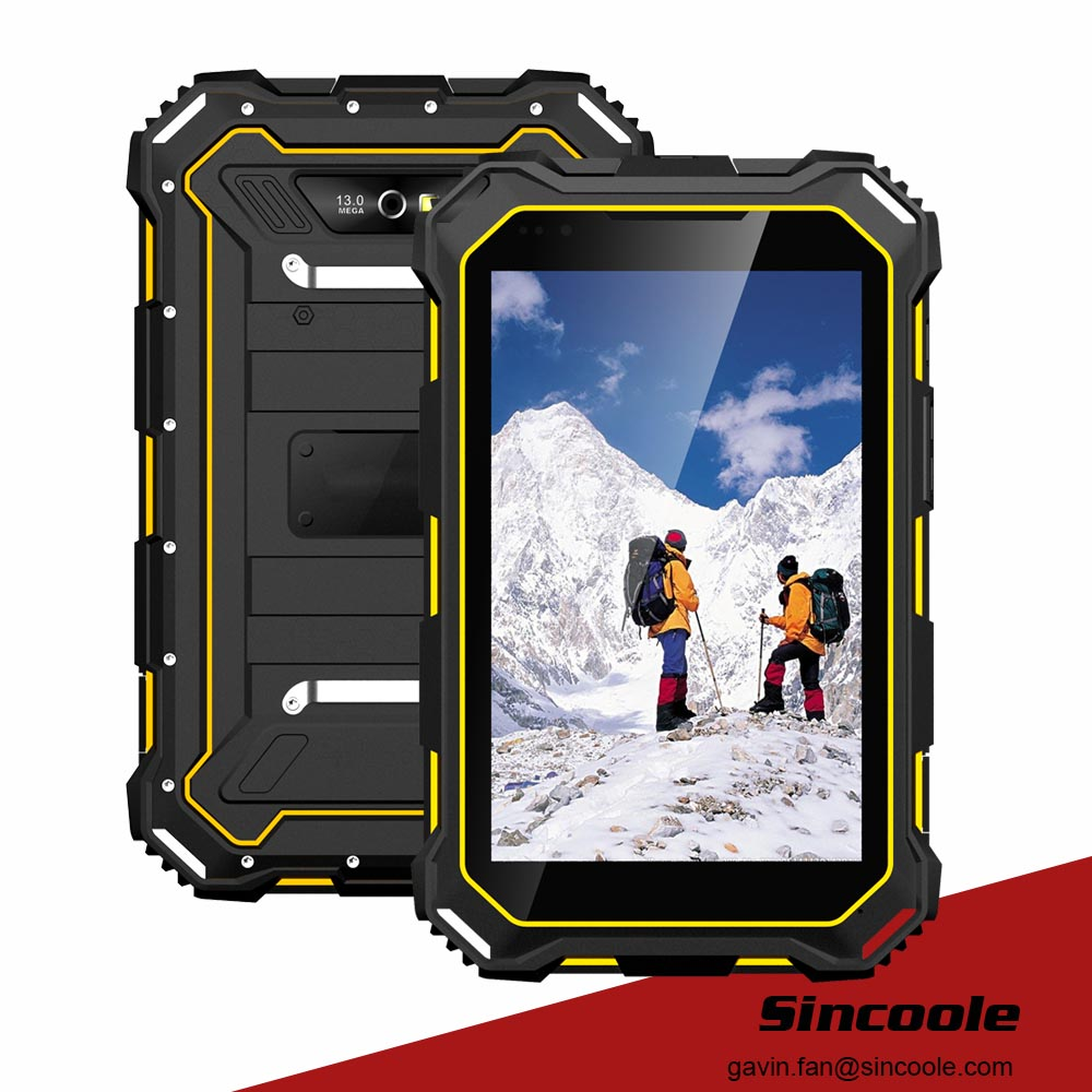 7 inčni IP68 Android 4.4 Rugged Tablet PC, Glonass Rugged Tablet