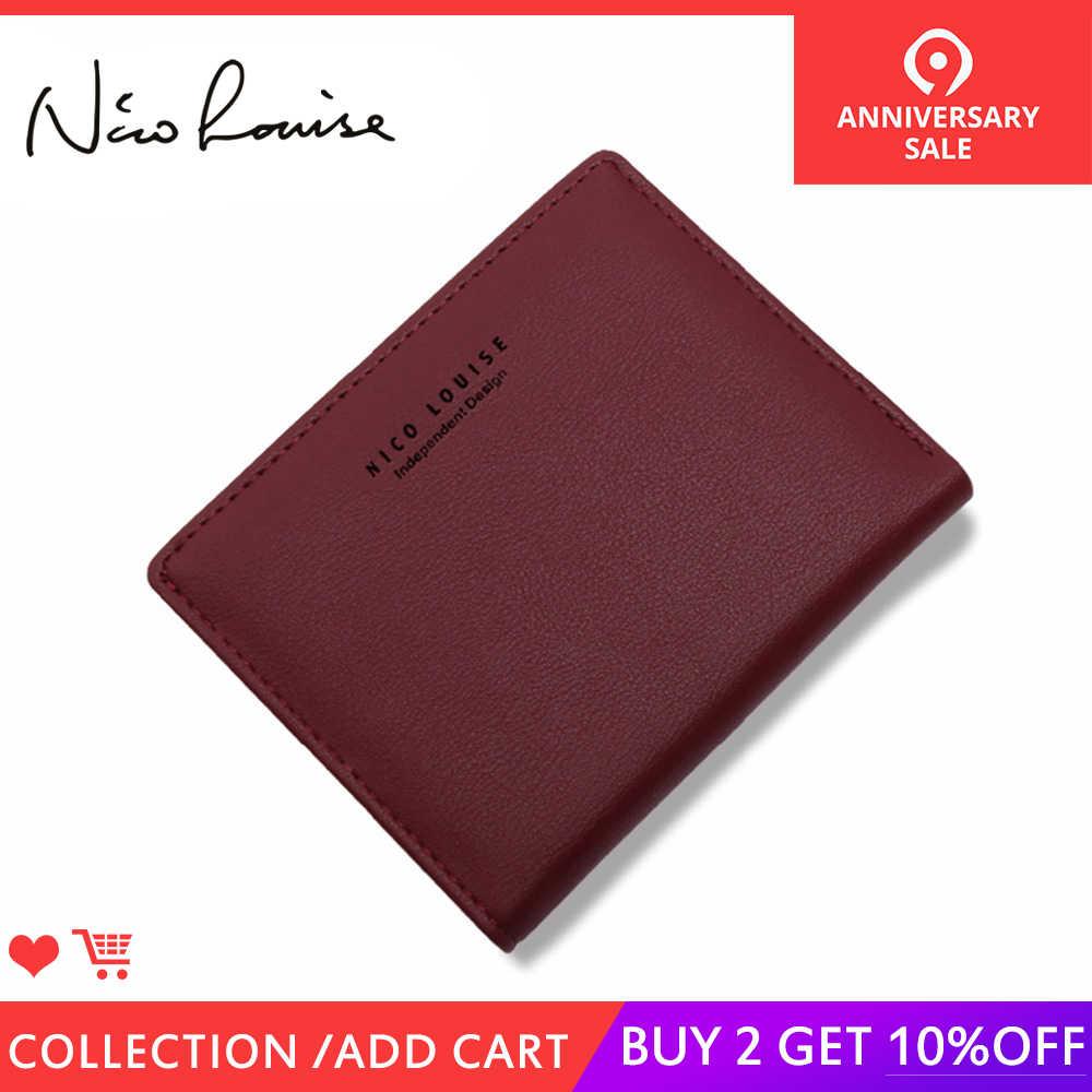 ba821ab5f1f5 Для женщин Прекрасный кожаный на молнии RFID Бумажник Мода Блокировка леди  небольшой кошелек держатель для карт