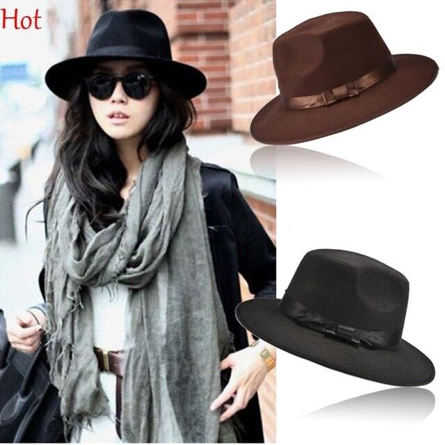 New Fashion Vintage Hat Women s Men s Trilby Derby Caps Jazz Hats Fedoras  Hats Blower Brand style Popular Fashion Cape SV009818 444033f02c7
