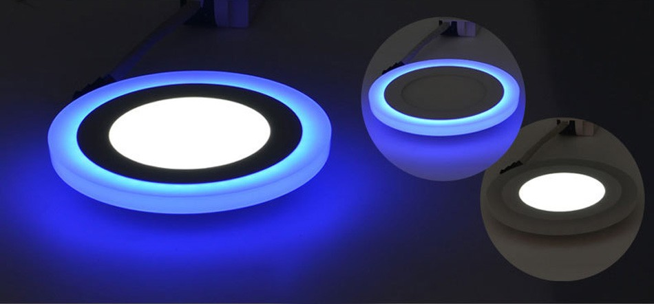 Double color led panel (2)