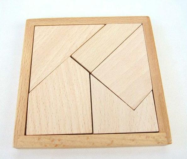 10set Wooden Puzzle Montessori Educational Toy Baby Waldorf Toddler Development Five Skillful Board Handmade Natural Beech Toys