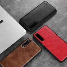 For Xiaomi 9 Mi 9T ProCase Classic Leather Soft Edge Full Protection Back Cover Redmi K20 Pro Cases Anti fall X-Level