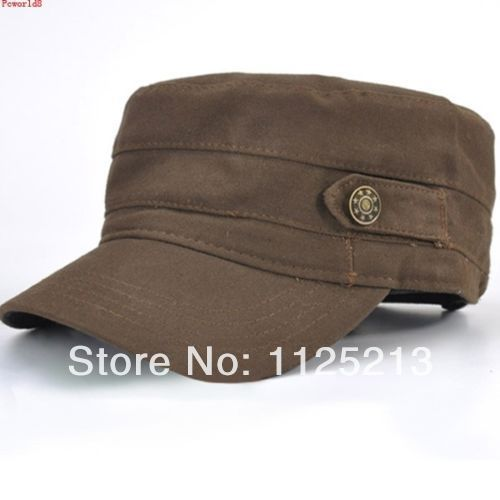 Fashion Plain Retro Mens Caps Army Castro Military Style CADET Patrol Caps  hat Hats Unisex coffee Black Green-in Holidays Costumes from Novelty    Special ... 68a2d8c221a