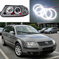 Para volkswagen vw b5.5 passat 3bg 2001 2002 2003 2004 2005 Excelente Ultrabright smd led Angel Eyes Halo do Anel de iluminação kit