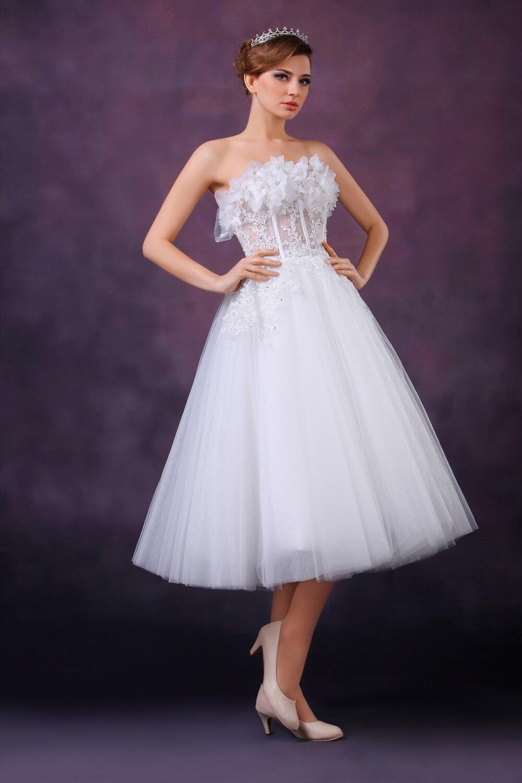 Lujoso Trajes De Boda De Marfil Ornamento - Vestido de Novia Para ...