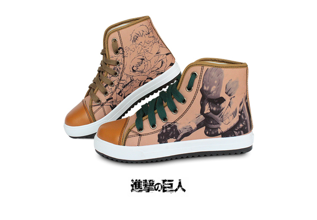 Attack On Titan High quality canvas shoes