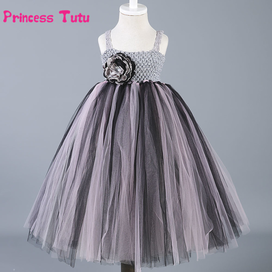 купить Toddler Baby Girls Tulle Tutu Dress Princess Flower Girl Dresses Vestidos Kids Party Pageant Birthday Bridesmaid Wedding Dress дешево