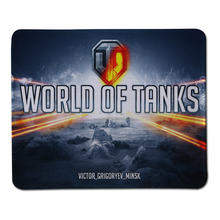 Sizzling Sale World of Tanks Brand Gaming Mouse Mat Laptop PC Laptop computer Rubber Mice Pad Optical Anti-slip Mousepad Lock Edge